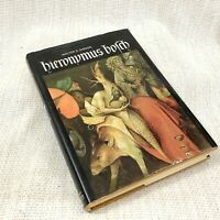 1973 Vintage Art History Book Hieronymus Bosch Illustrated Old Copy W Gibson