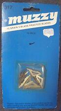 MUZZY PRACTICE BLADES FOR 75 GR. 3-BLADE BROADHEADS ARCHERY ARROW  MODEL #317