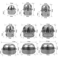 1*Stainless Steel Balcony Roof Round Anti-Blocking Floor Drain For Drainage Pipe