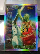 1995-96 Topps Mystery Finest Refractor Michael Jordan M1 Rare Hot Insert GOAT