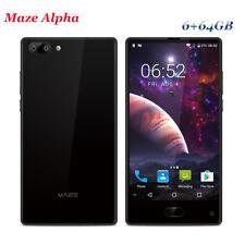 """6"""" MAZE Alpha 6+64GB Android7.0 Octa Core 4000mAh 4G Fingerprint Smartphone 2SIM"""