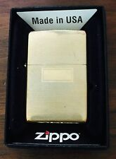 Zippo Lighter Rectangles and Lines 1999 Design