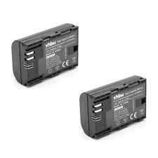 2x Akku INTENSILO 1300mAh INFOCHIP für Canon Batteriegriff BG-E6