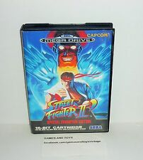 JEU MEGADRIVE COMPLET STREET FIGHTER 2 SPECIAL CHAMPION EDITION