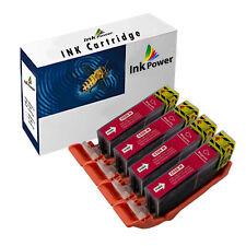 4 Magenta Ink Cartridges For Canon Pixma iP4850 iP4950 iX6550 MG5150 MG5250