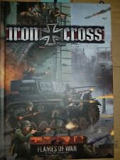 Flames of War Iron Cross Book With Command Cards