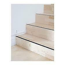 "ANTI-SLIP STRIP Safety Stair Step L16' (5m) / W1"" IKEA PATRULL NEW in Package"