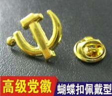 Communism Communist  badge Country Flag Lapel Hat Cap Tie Pin Badge-22*20mm