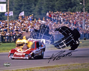 Kenny Bernstein SIGNED 8x10 Photo King of Speed Drag Racing PSA/DNA AUTOGRAPHED