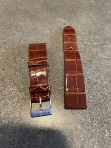 Chestnut Brown Alligator Watch Strap