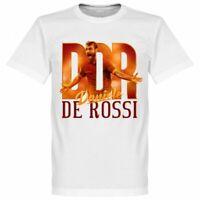 T SHIRT DE ROSSI DANIELE STORICO CAPITANO 100% Cotone DDR