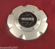 MOMO Wheels Silver Custom Wheel Center Cap (1) # 99