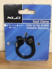Seatpost Clamp Black 28.6 Hex Bolt XLC Bike Alloy Seat Post Clamp New
