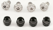 1911 grip screws complete kit, torx Silver screws,and bushings, 1911 screws