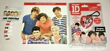 One Direction 2013 Official Calendar, Singing Keychain and Expandable Bracelet