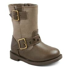 Toddler Girl Cherokee Dahra Riding Boots Taupe Brown Size 6