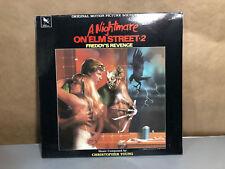 A Nightmare On Elm Street 2 Freddy's Revenge lp Original 1986 MINT SEALED RARE