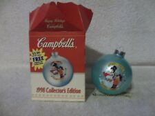 1998 Collector's Edition Campbell's Kids Christmas Ornament