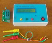 MK-168 Transistor Tester Triode Capacitance ESR MOS PNP NPN Resistance Meter New