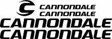 Cannondale Bicycle Decal Set NEW DESIGN (Gloss Black)