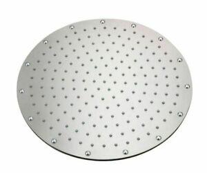 Duschkopf edelstahl Kopfbrause Dusche Badezimmer Brausekopf runde Duschbrause