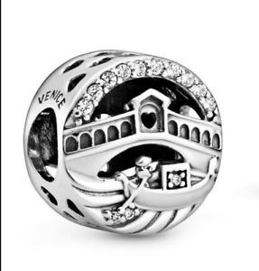 Genuine Pandora Sterling Silver 798925C01 Venice Rialto Bridge  S925 ALE Charm