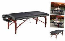 "Master Massage 31"" Montclair Professional Portable Massage Table Package Black"