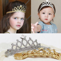 US Hair Accessories Baby Girl Crown Hairband Toddler Headband Kid Tiara Birthday