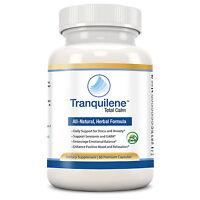 Tranquilene - Herbal Anti Anxiety Stress & Panic Supplement (1 Month, 60 Caps)