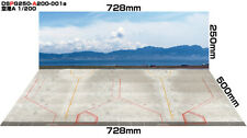 [Hakoniwagiken]Diorama paper sheet PRO-G250 1/200 Airport A apron