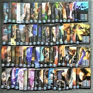 Lot of 70 Torchwood Trading Cards 2006 Common & Rare Cards Doctor Who Franchise