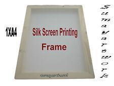 Stampa serigrafica cornice in legno 1X A4 43t (110 US) Mesh Unità Quantità 1