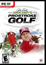 JOHN DALY'S PROSTROKE GOLF. GRIP IT AND RIP IT! BRAND NEW PC SOFTWARE. FREE SHIP