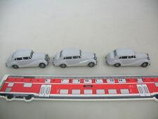 h494-0, 5 #3X Wiking H0 3800, ROLLS ROYCE 1951, MINT