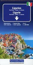 KuF Italien Regionalkarte 06. Ligurien 1 : 200 000 (Sheet map)
