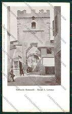 Firenze Borgo San Lorenzo cartolina QQ2260