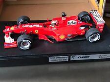"""F1 Ferrari F2000 """"Marlboro"""", SCHUMACHER, 1/18 comme neuf avec boite d'origine"""
