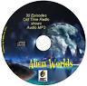 Alien Worlds 30 Sci Fi OTR episodes Old Time Radio Audio MP3 CD