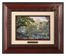 Thomas Kinkade Disney's Jungle Book Framed Brushwork (Brandy Frame)