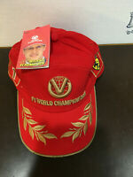 MICHAEL SCHUMACHER FOURTH WORLD CHAMPIONSHIP HAT BRAND NEW WITH TAGS