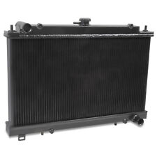 BLACK ALUMINIUM ALLOY RACE RADIATOR RAD FOR NISSAN 200SX S14 S14A S15 SR20DET