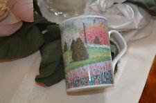 Tulip Time by E. Joseph Fontaine Inhesion Fine Porcelain China Coffee Cup Mug