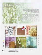 "Korea - SC 1978a-e ""Millennium Series"" (10)  sheet 2001"