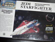 """科幻模型: 士打鍋""""啫大""""戰鬥機 Star Wars Jedi Starfighter 1:72, With Stands & Detachable Hyper"""