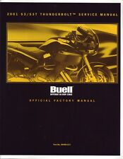 HARLEY Reparaturanleitung BUELL 2001 Thunderbolt S3 S3T 99489-01Y Werkshandbuch