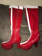 Secret Wishes Wonder Woman Boots Rubie's size Large( US Size 9-10)