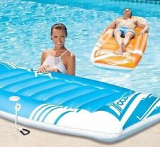 Oceans7 Tropics Lounge Swim Flotation Devices 2 PACK Lounger Lilo Float