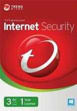 Trend Micro Internet Security 10 - 1-Year  3-PC
