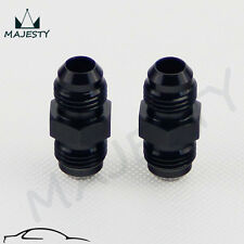 2PCS UNIVERSAL AN6 to 6AN ALUMINIUM STRAIGHT MALE FLARE UNION FITTING ADAPTER