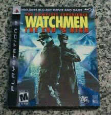Watchmen: The End is Nigh The Complete Experience CIB Sony PlayStation 3 Tested